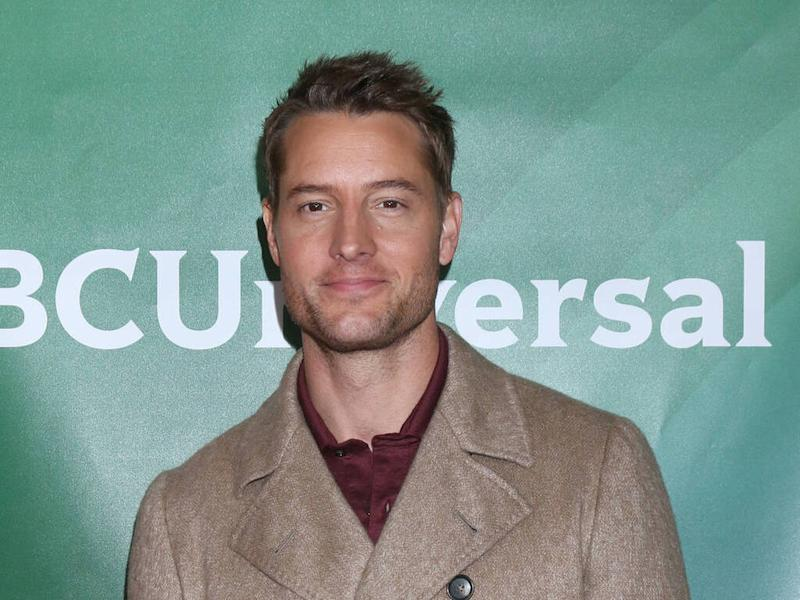 Justin Hartley 'tore bicep off' his arm after installing home gym during lockdown