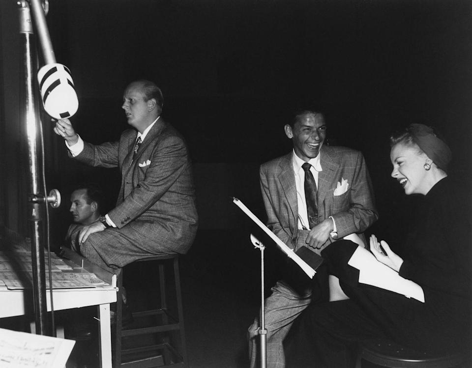 """<p>Judy and Frank appeared on the CBS radio program, """"The Danny Kaye Show.""""</p>"""