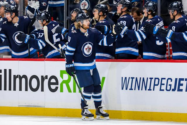 The Jets have some key fantasy assets — but they're not in the best position to succeed this week. (Photo by Jonathan Kozub/NHLI via Getty Images)