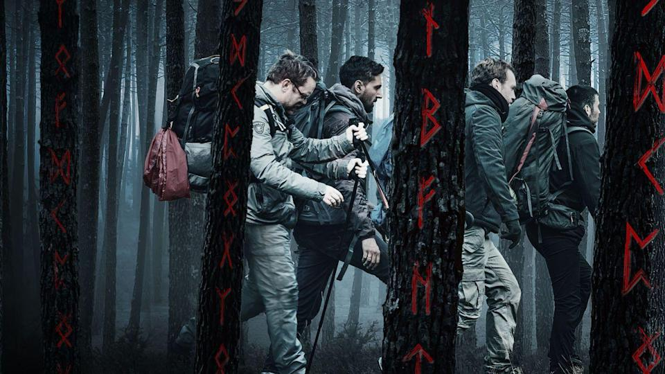 """<p>This British horror movie follows four friends venturing through the Swedish wilderness. No one is safe from the supernatural forces outside of their tents. This is a good one for anyone who has ever wondered what's out there in the woods.<br></p><p><a class=""""link rapid-noclick-resp"""" href=""""https://www.netflix.com/title/80217312"""" rel=""""nofollow noopener"""" target=""""_blank"""" data-ylk=""""slk:STREAM NOW"""">STREAM NOW</a></p>"""