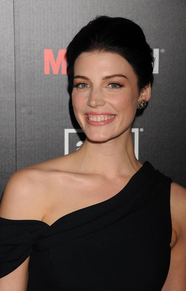 Jessica Pare arrives at AMC's 'Mad Men' Season 5 Premiere at ArcLight Cinemas Cinerama Dome on March 14, 2012 in Hollywood, California. (Photo by Jeffrey Mayer/WireImage)