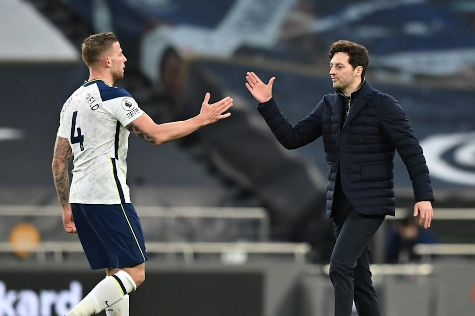 Ryan Mason led Tottenham to victory in his first game as interim managerGetty Images