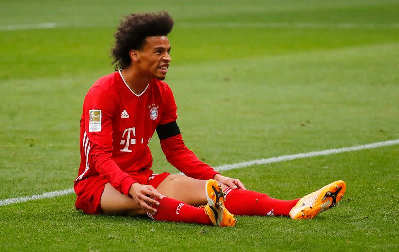 Bayern's Sane to miss Super Cup, Alaba doubtful