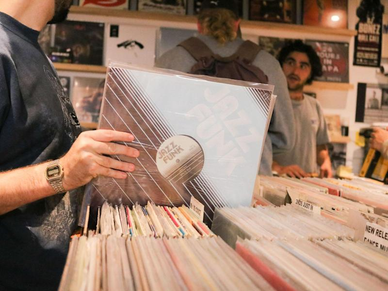 Vinyl has enjoyed another surge in sales from 2016: Rex