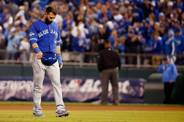Jose Bautista and the Blue Jays haven't gotten off to a great start. (Getty Images)