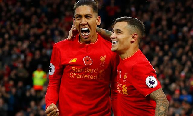 Liverpool hire jet for return of Philippe Coutinho and Roberto Firmino