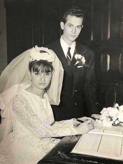 Domenico and Concetta Scolaro on their wedding day in 1963 (Picture: SWNS)