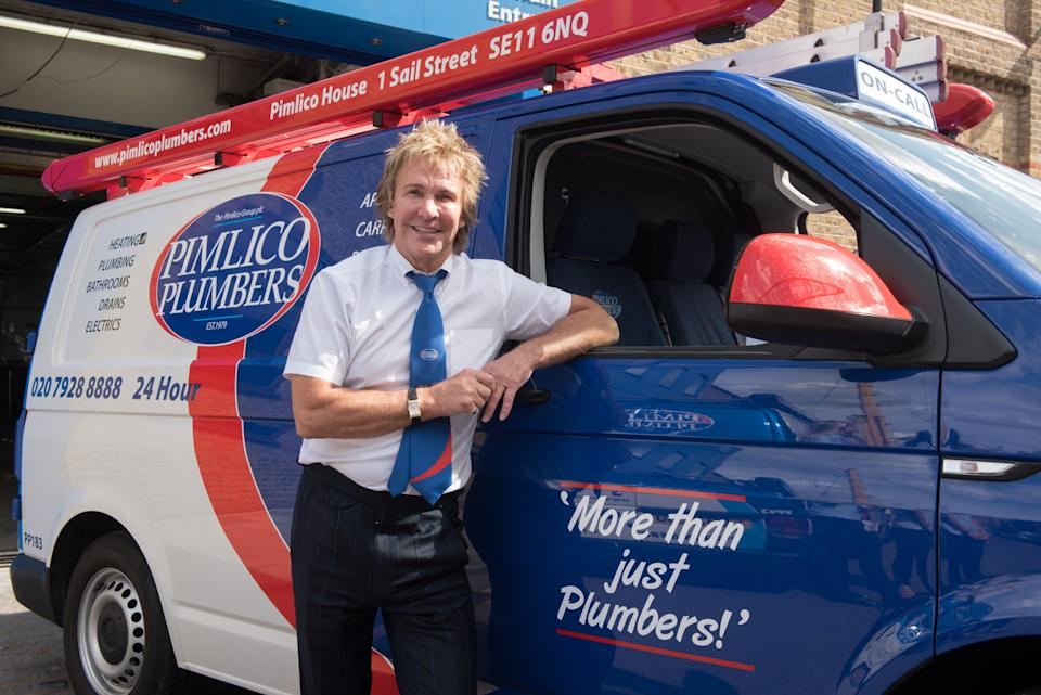 The firm's boss Charlie Mullins explained the 'no jab, no work' policy in an interview (Pimlico Plumbers)