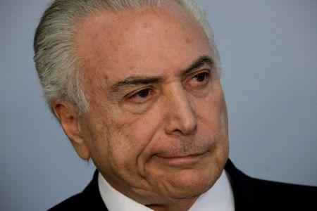 Brazil's Temer cancels trip to G20 summit amid corruption scandal