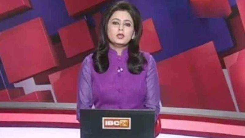 Brave Chhattisgarh TV Anchor Reads News of Her Husband's Death