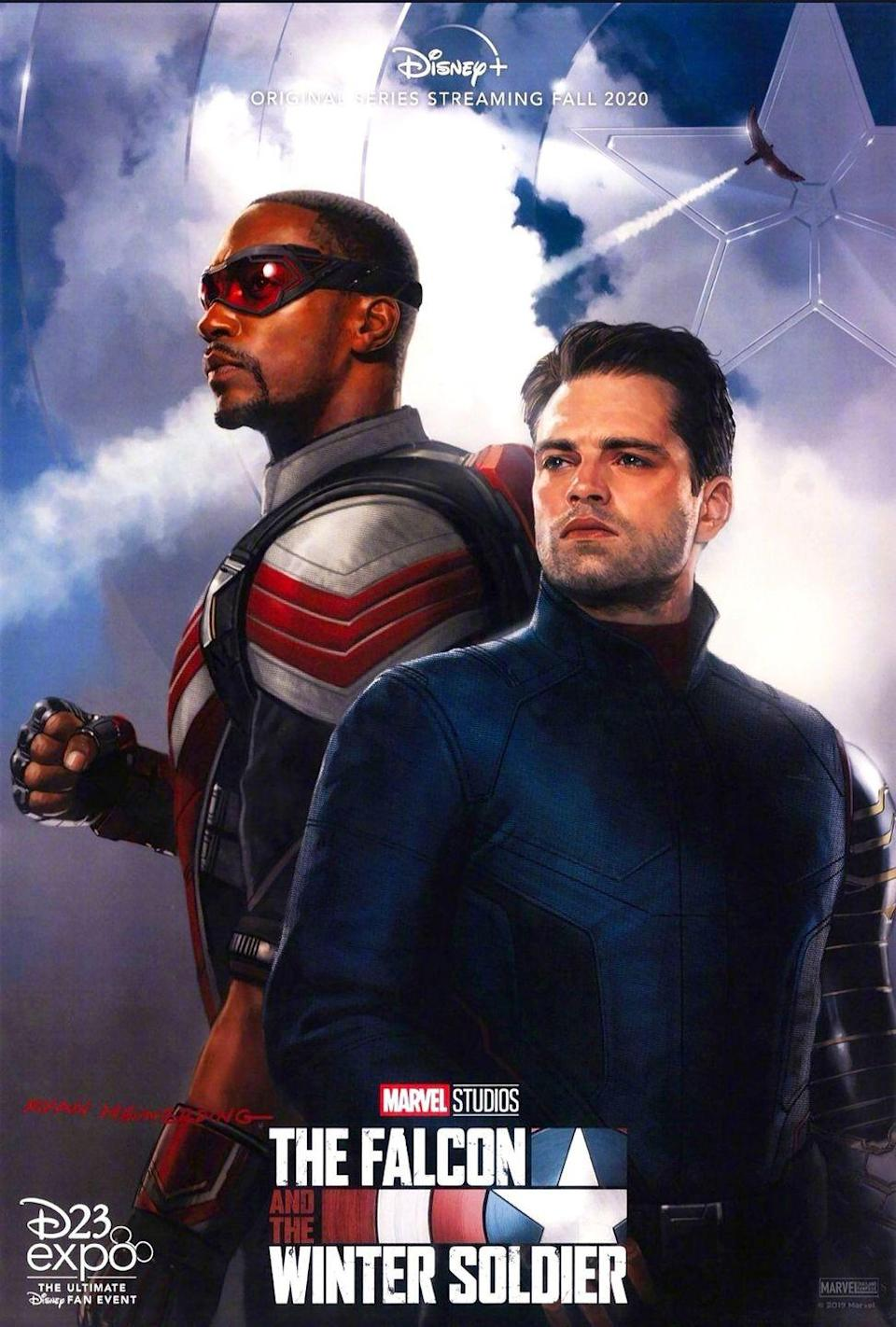 "<p>Picking up right where <em>Avengers: Endgame </em>left off, <em><a href=""https://www.menshealth.com/entertainment/a28134716/the-falcon-and-the-winter-soldier-disney-plus-cast-details/"" rel=""nofollow noopener"" target=""_blank"" data-ylk=""slk:The Falcon and The Winter Soldier"" class=""link rapid-noclick-resp"">The Falcon and The Winter Soldier </a></em>will follow <em>Men's Health </em>cover stars <a href=""https://www.menshealth.com/entertainment/a30183556/sebastian-stan-winter-soldier-interview/"" rel=""nofollow noopener"" target=""_blank"" data-ylk=""slk:Sebastian Stan"" class=""link rapid-noclick-resp"">Sebastian Stan</a> and <a href=""https://www.menshealth.com/entertainment/a28120934/anthony-mackie-falcon-captain-america-marvel/"" rel=""nofollow noopener"" target=""_blank"" data-ylk=""slk:Anthony Mackie"" class=""link rapid-noclick-resp"">Anthony Mackie</a> as their titular characters navigate the present of the MCU. The series is already filming, and will see villain Baron Zemo (Daniel Brühl) and Agent Sharon Carter (Emily VanCamp) return; it's the <em>Captain America </em>(sans Chris Evans) sequel that we all know we wanted and needed. </p>"