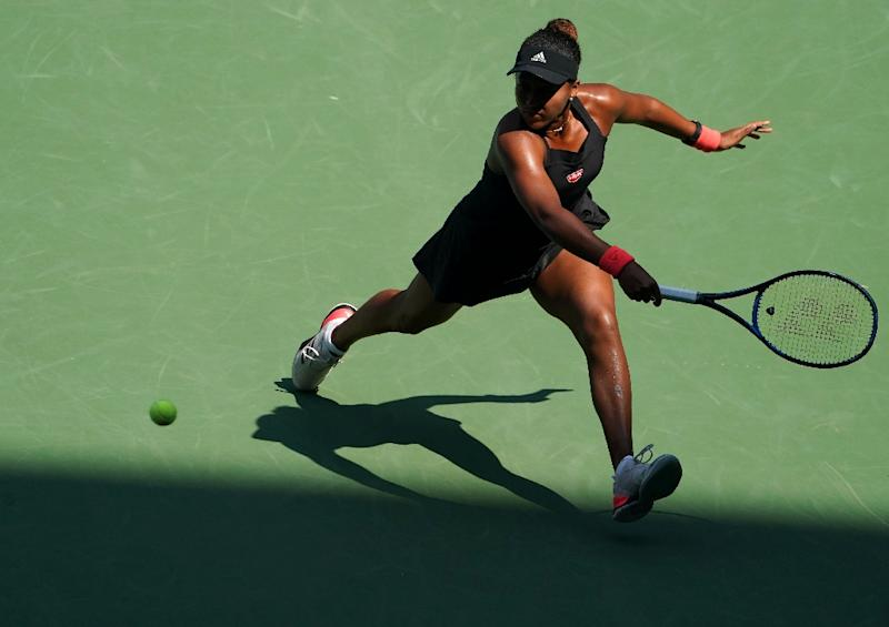 Out of the shadows Naomi Osaka hits a return to Aryna Sabalenka
