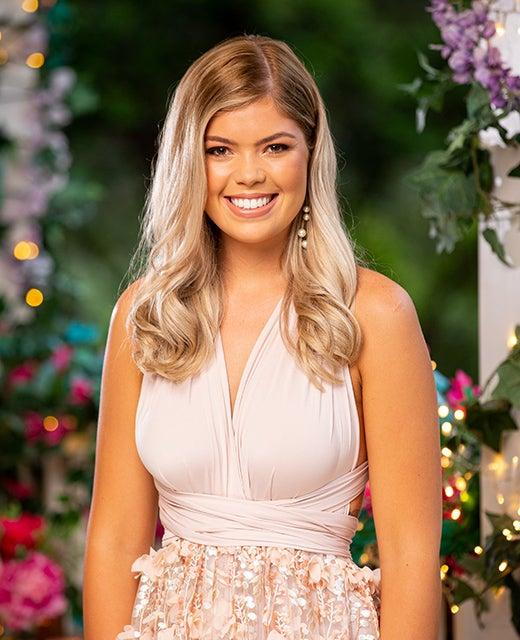 Clare on The Bachelor Australia 2020. Photo: Channel 10.