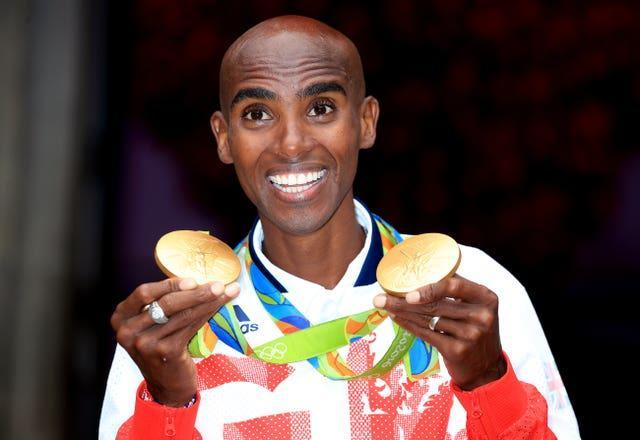 Mo Farah has won four Olympic gold medals
