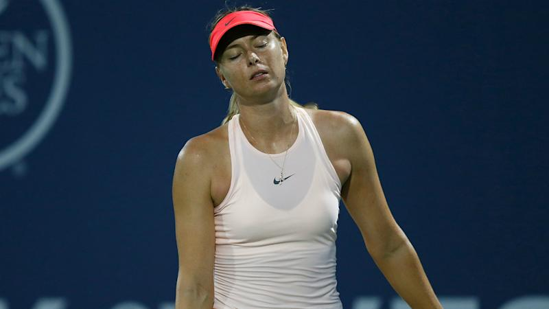 With eye on U.S. Open, Maria Sharapova pulls out of Cincinnati WTA event