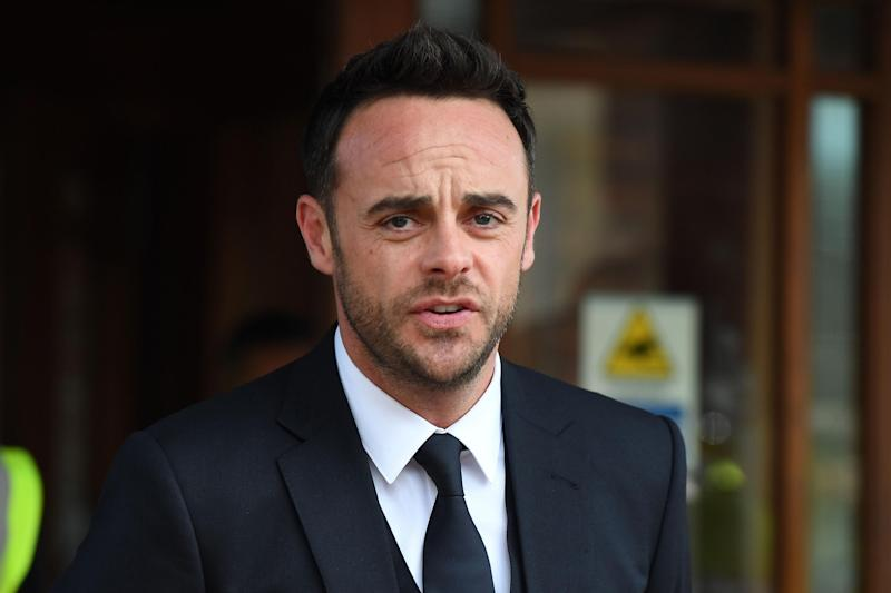 Reconciliation: McPartlin is now on speaking terms with his dad: Chris J Ratcliffe/Getty Images