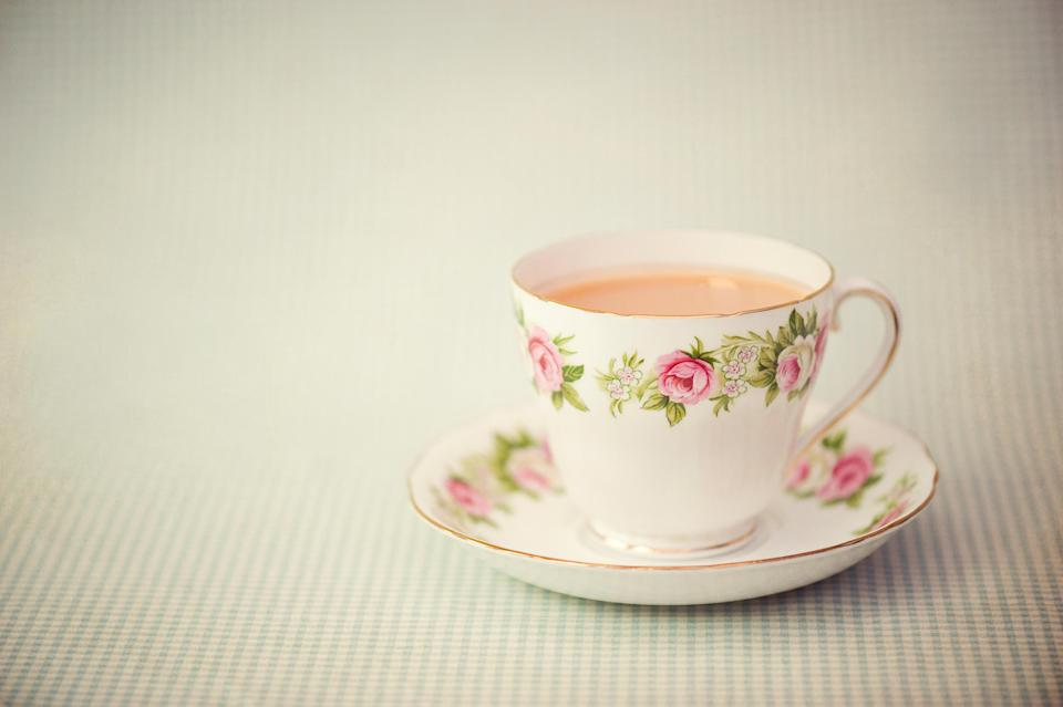 Cups: look pretty but tea tastes better from a mug [Photo: Getty]