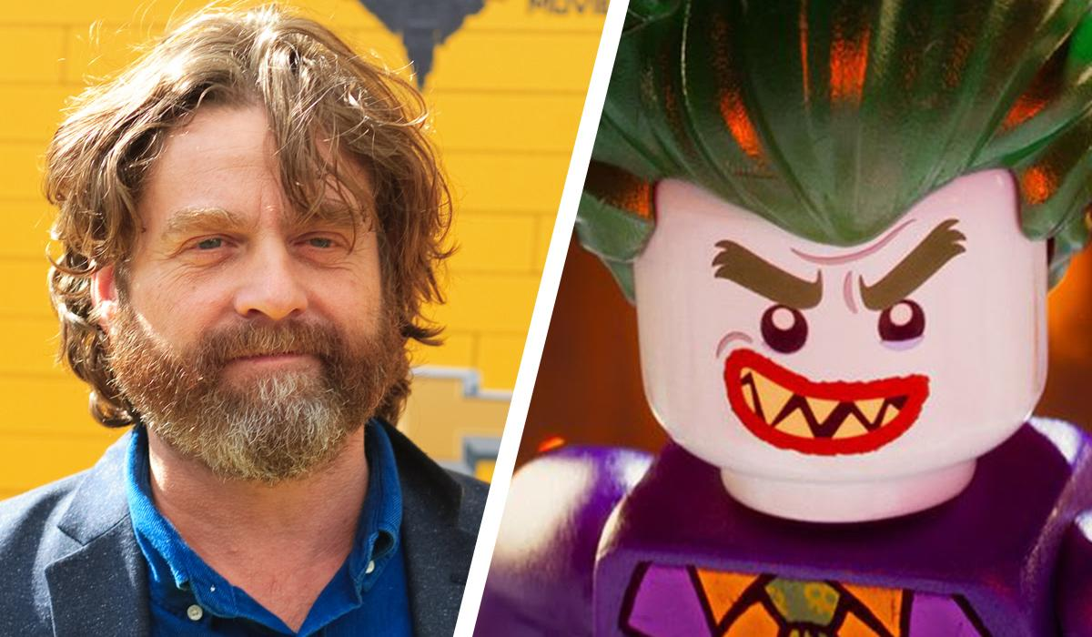 <p>Okay, he's the most recent version of The Joker… but did you know 'The Lego Batman Movie' version of the iconic Batman villain was voiced by Zach Galifianakis? He's most famous for 'The Hangover' trilogy… but he scrubs up pretty well with some white face paint. (Credit: Warner Bros.) </p>
