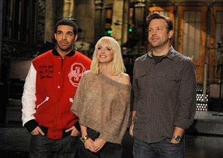 """Anna Faris hosted, but Drake made this """"SNL"""" one to remember (Dana Edelson/NBC)"""