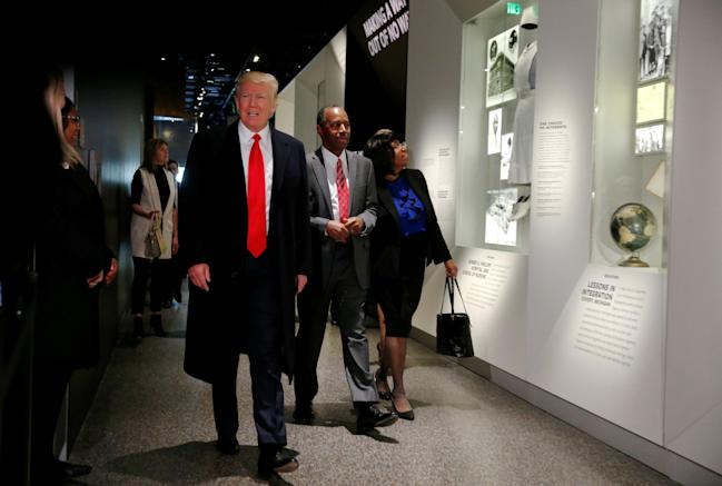 Trump National Museum of African American History and Culture Ben Carson