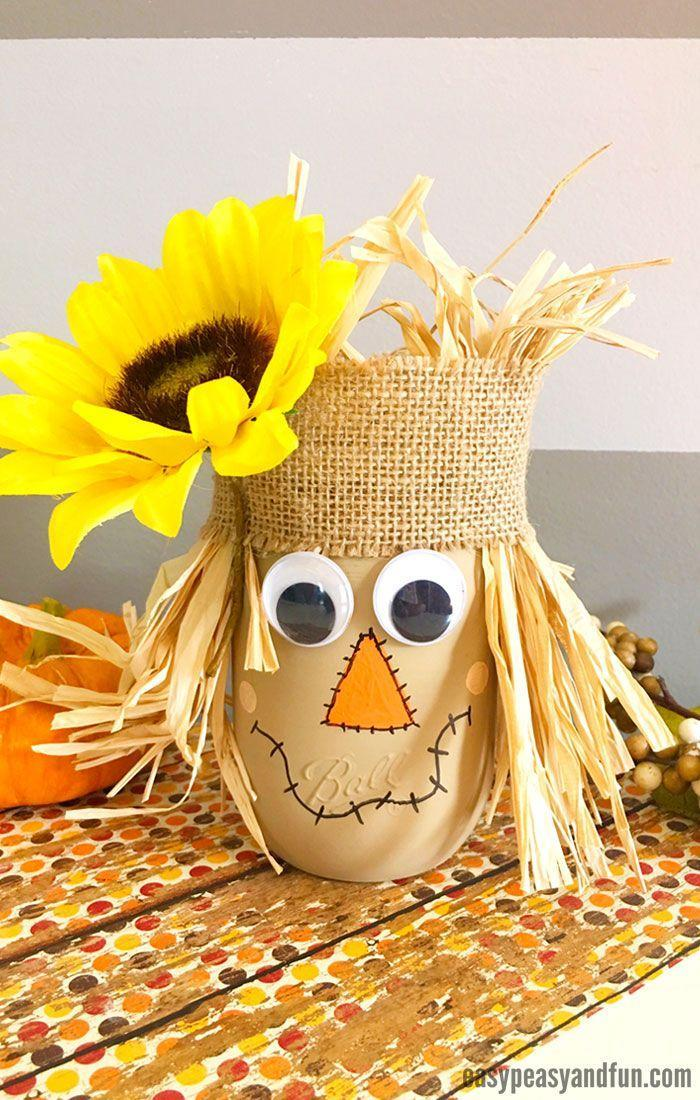 "<p>Though kids may need some help assembling this adorable <a href=""https://www.countryliving.com/diy-crafts/g1916/mason-jar-fall-crafts/"" rel=""nofollow noopener"" target=""_blank"" data-ylk=""slk:Mason jar project"" class=""link rapid-noclick-resp"">Mason jar project</a>, they'll feel so accomplished when it's finished. </p><p><strong>Get the tutorial at <a href=""https://www.easypeasyandfun.com/scarecrow-mason-jar/"" rel=""nofollow noopener"" target=""_blank"" data-ylk=""slk:Easy Peasy and Fun"" class=""link rapid-noclick-resp"">Easy Peasy and Fun</a>. </strong></p><p><strong><a class=""link rapid-noclick-resp"" href=""https://www.amazon.com/12-Ball-Mason-Jar-Lid-x/dp/B014V7RSE8/?tag=syn-yahoo-20&ascsubtag=%5Bartid%7C10050.g.22626432%5Bsrc%7Cyahoo-us"" rel=""nofollow noopener"" target=""_blank"" data-ylk=""slk:SHOP MASON JARS"">SHOP MASON JARS</a><br></strong></p>"