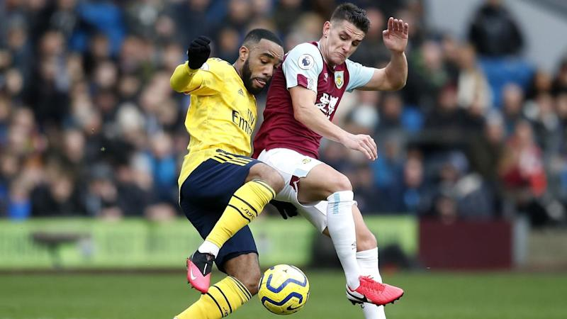 Burnley and Arsenal have played out a goalless draw with the hosts threatening a late winner