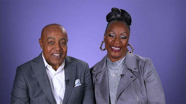 PHOTO: Peabo Bryson and Regina Belle, the iconic duo behind Disney's hit single 'A Whole New World.' (ABC)