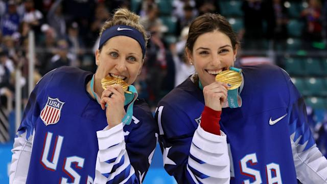The first U.S. Olympic women's hockey gold medal in 20 years belongs to a team defined by its personality, unity and the progress it made both on and off the ice.