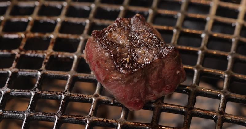 The American Wagyu was leaner than the others, so the texture was chewier than I'd want in a steak with Wagyu lineage.