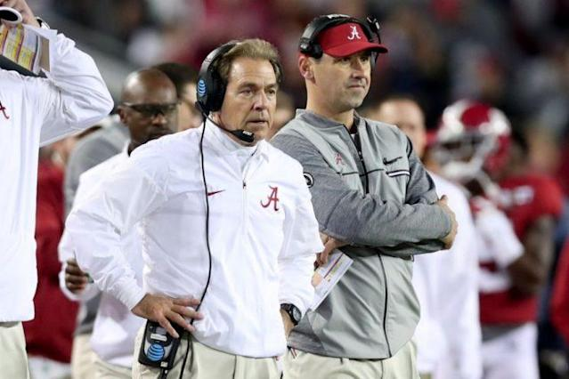 Nick Saban told ESPN he'll never get over Alabama's loss to Clemson. (Getty)