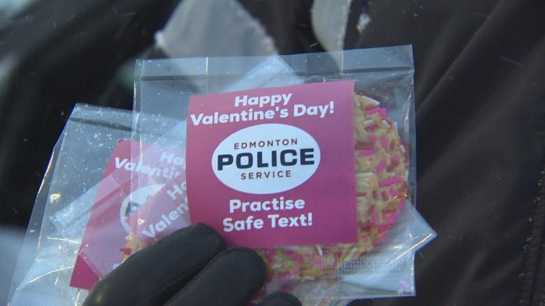 Police crack down on distracted drivers this Valentine's Day