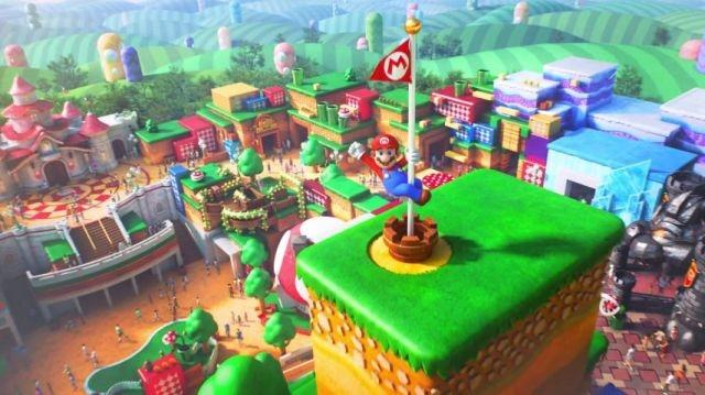 Mario Welcomes You To Super Nintendo World In New Video