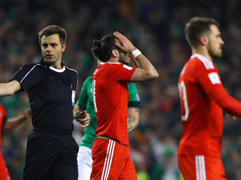 Wales will be without Bale for their crucial game against Serbia (Getty)