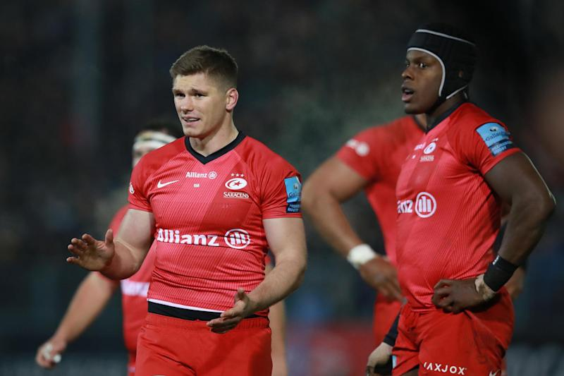 The futures of Owen Farrell and Maro Itoje will come under scrutiny Photo: Getty Images