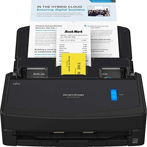 Fujitsu ScanSnap iX1400 Simple One-Touch Document Scanner for Mac or PC