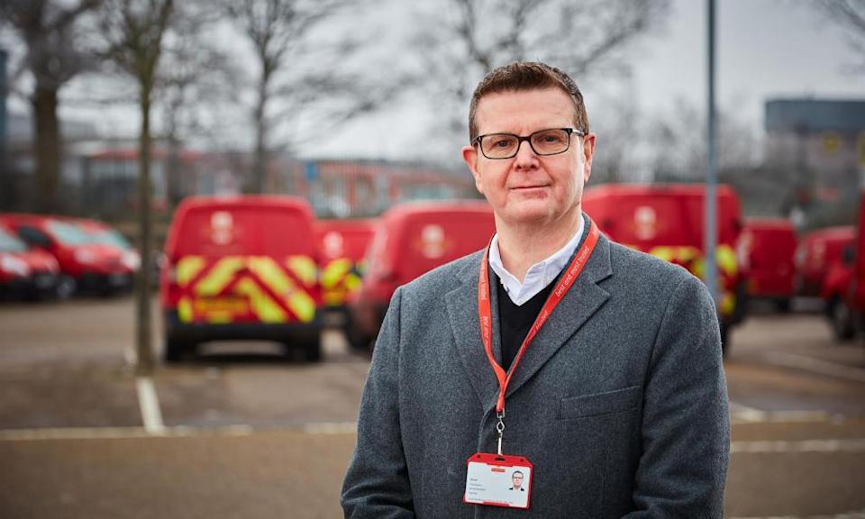 New Royal Mail chief executive Simon Thompson.