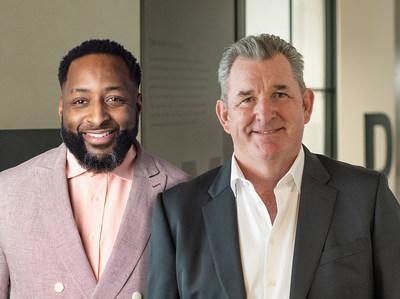 Marty O'Halloran, Chief Executive Officer, DDB Worldwide (right)Justin Thomas-Copeland, Chief Executive Officer, DDB North America (left)