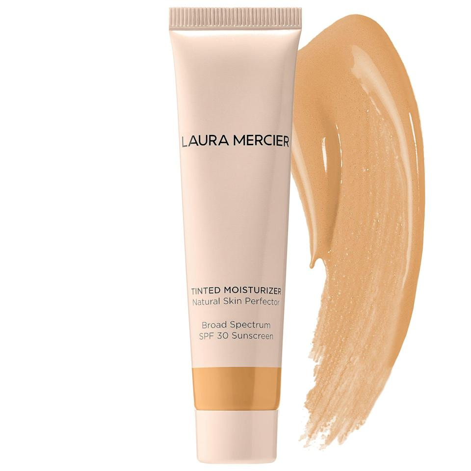 "<p><strong>Laura Mercier</strong></p><p>sephora.com</p><p><strong>$24.00</strong></p><p><a href=""https://go.redirectingat.com?id=74968X1596630&url=https%3A%2F%2Fwww.sephora.com%2Fproduct%2Ftinted-moisturizer-broad-spectrum-spf-20-P422082&sref=https%3A%2F%2Fwww.harpersbazaar.com%2Fbeauty%2Fmakeup%2Fg34601110%2Fbest-bb-creams%2F"" rel=""nofollow noopener"" target=""_blank"" data-ylk=""slk:Shop Now"" class=""link rapid-noclick-resp"">Shop Now</a></p><p>The coverage might be sheer, but the Laura Mercier shade range doesn't disappoint. Find which flexible shade from the 20-color range works for your skin, and enjoy SPF 30, moisturizer, and a skin tint all in one. </p>"