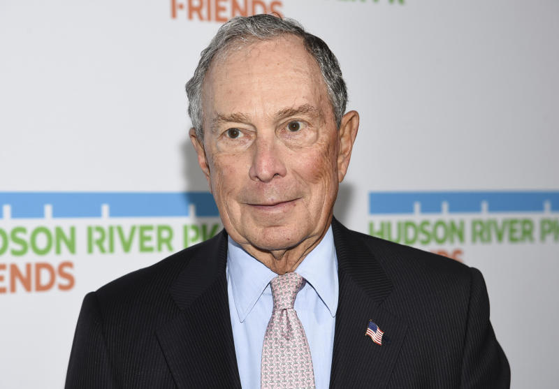 Mayor of South Carolina's capital says he would back Michael Bloomberg