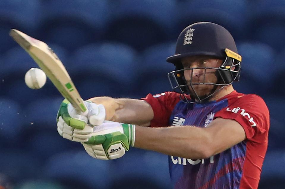 Jos Buttler will play no further part for England against Sri Lanka (AFP via Getty Images)