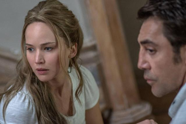<p>Darren Aronofsky's <em>Mother!</em> is by far the most polarizing movie of the year. Is it a horror film? A biblical allegory? A parable about climate change? Ask three different people and you'll get three different answers, and that's what makes <em>Mother!</em> such a memorably ambitious work of art. The film's third act is so out of control, it's guaranteed to elicit an emotional response, whether you loved it or hated it. <em>— Brett Arnold </em>(Photo: Paramount Pictures) </p>