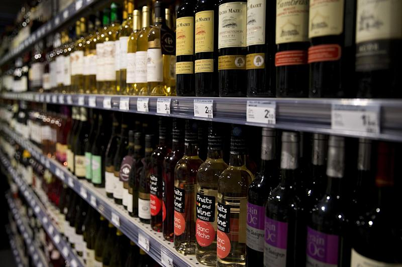 More than half a million adults aged 55 to 74 were admitted to English hospitals for alcohol-related issues in 2015/16: AFP/Getty Images