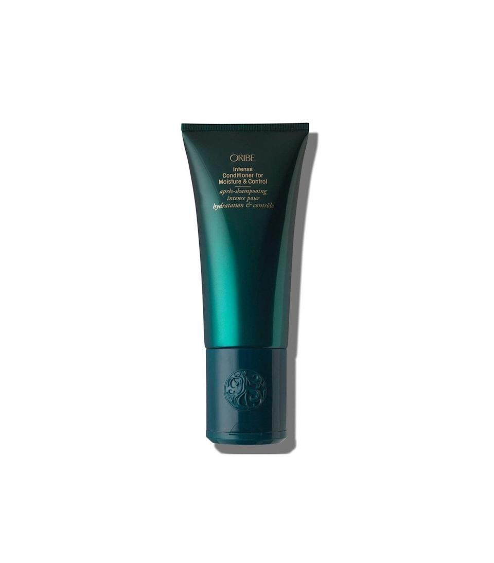 Oribe is an editor and hairstylist favorite for top-notch hair care at home. The brand's Intense Conditioner For Moisture And Control is made with olive oil and keratin to moisturize and strengthen hair while it improves shine and smoothes curls.
