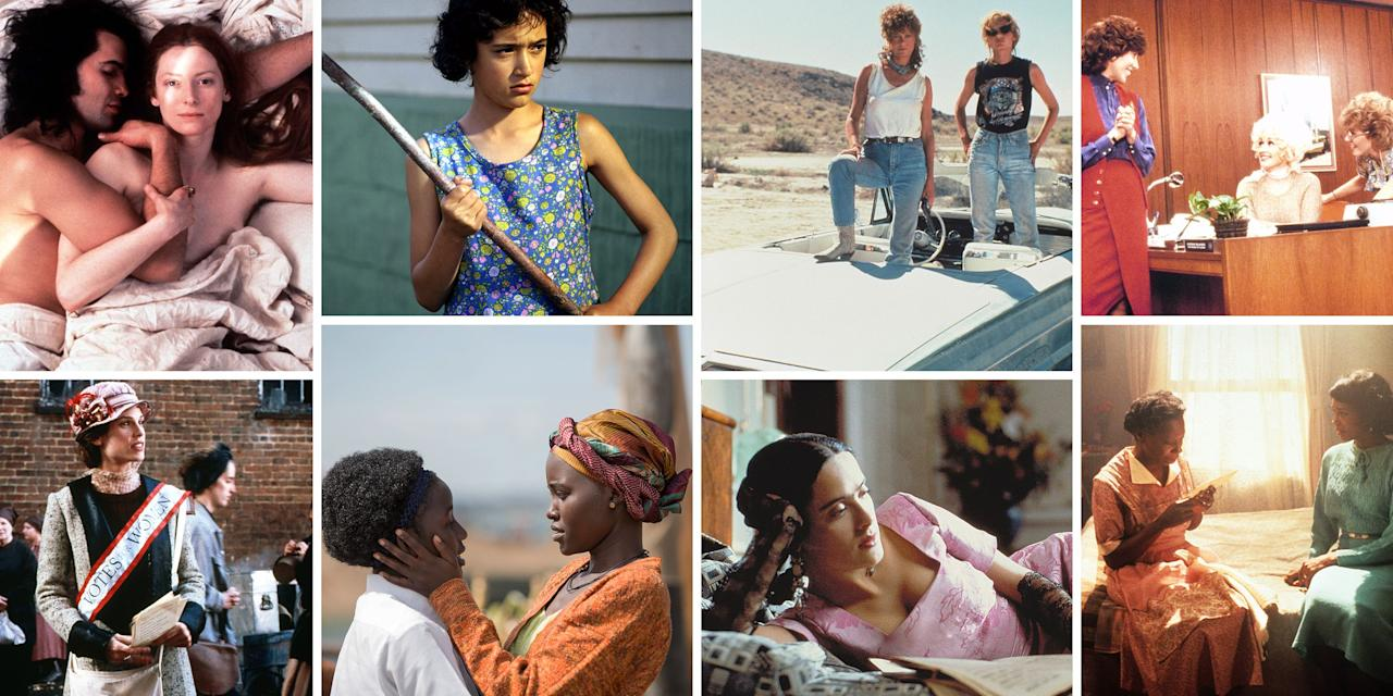 <p>March is Women's History Month, the perfect time to dust off your copy of <em>The Feminine Mystique</em>—or hit play on any one of these amazing films made for, by, or about women. But please note: this is in no way the definitive list; it's just a jumping-off point.</p>