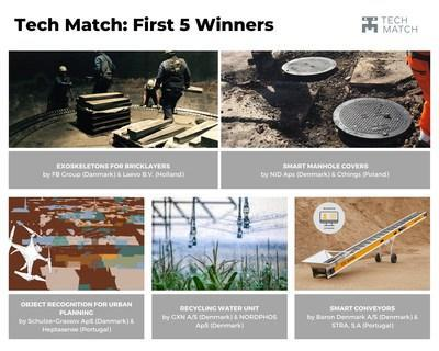 Tech Match Winners First Open Call (PRNewsfoto/FundingBox)