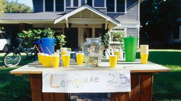 PHOTO: A lemonade stand appears in this undated stock photo. (STOCK PHOTO/Getty Images)