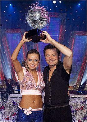 Chris Hollins gave professional dancer Ola Jordan her first, and so far only, win back in 2010.