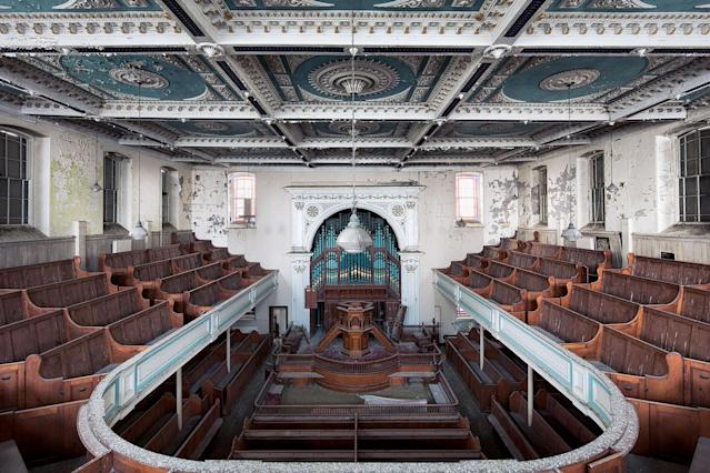 <p>Former chapel in Wales. (Photo: James Kerwin/Caters News) </p>