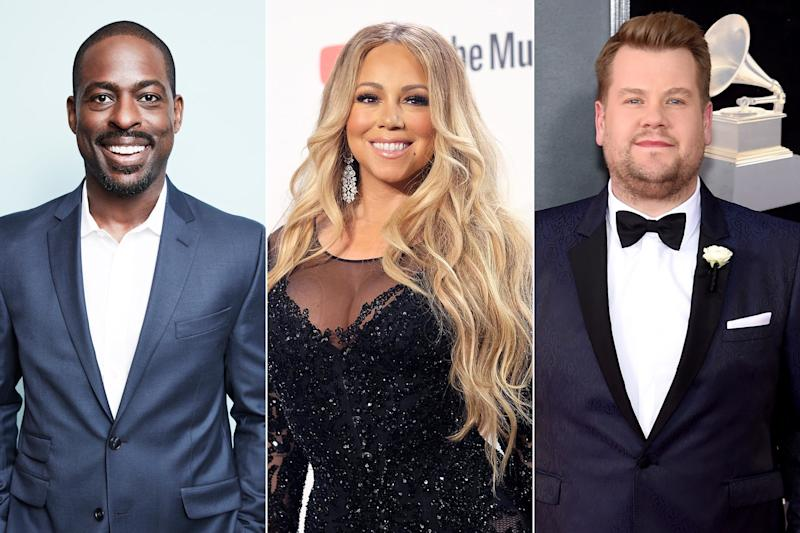 Mariah Carey, James Corden Celebrate GLAAD's Spirit Day by Wearing Purple: 'Take a Stand'