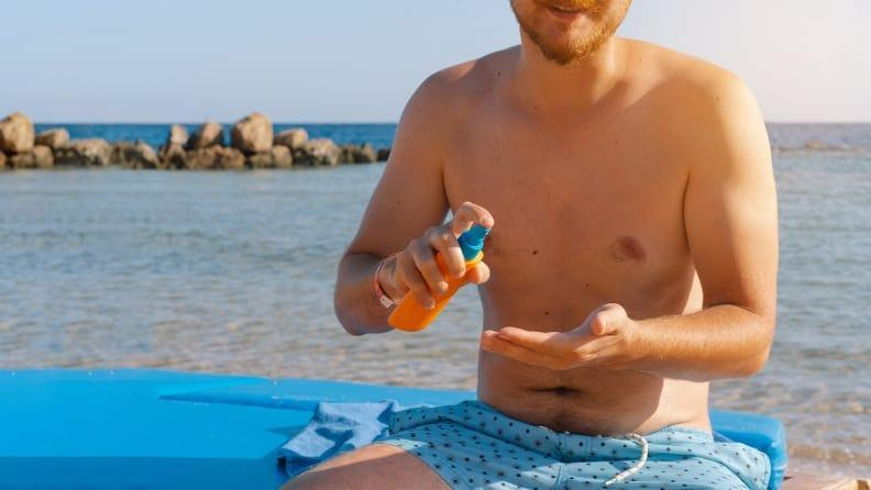 Be diligent about applying sunscreen to prevent further skin damage.